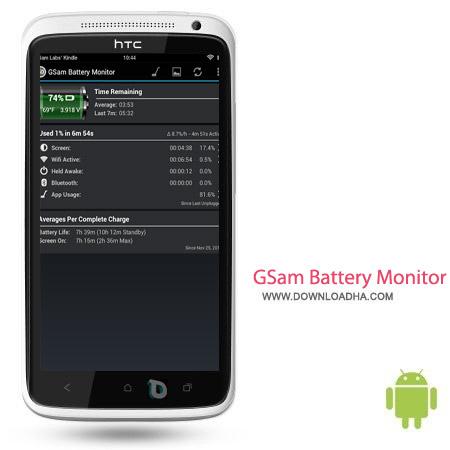 GSam Battery Monitor Pro 3.13 نرم افزار مونیتور باتری GSam Battery Monitor Pro 3.13 – اندروید