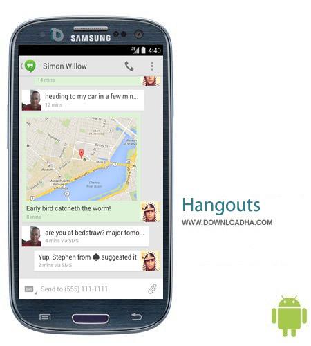 Hangouts 2.1.311 نرم افزار هنگ اوت Hangouts 2.1.311 – اندروید