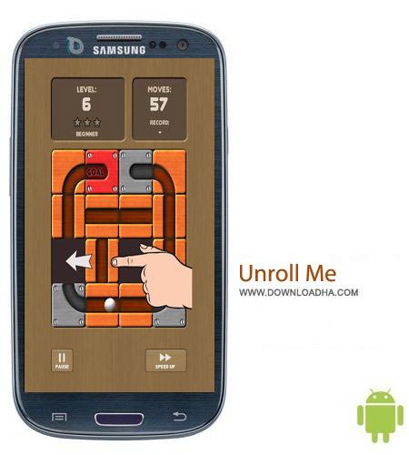 Unroll Me v1.4 بازی فکری Unroll Me v1.4 – اندروید