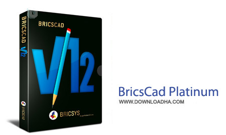 BricsCad Platinum 14.2.17 Revision 35160 نرم افزار نقشه کشی حرفه ای BricsCad Platinum 15.1.23 Revision 37473