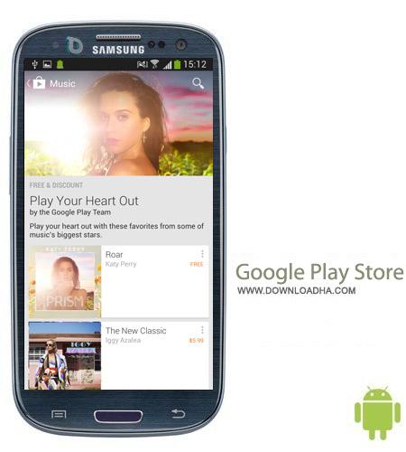 Google Play Store v4.8.20 نرم افزار مارکت اندروید Google Play Store v4.8.20 – اندروید