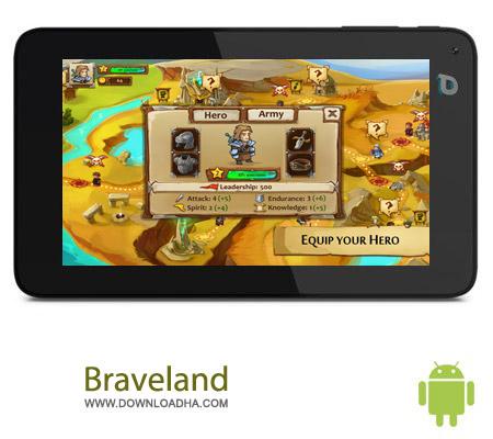 Braveland 1.1 بازی استراتژی Braveland 1.1 – اندروید