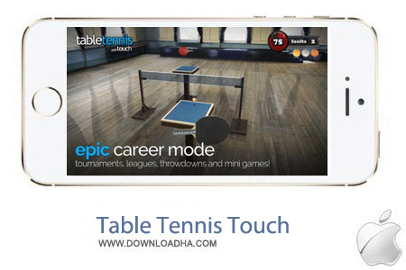 Table Tennis Touch 1.0.424 بازی تنیس روی میز Table Tennis Touch 1.0.424 – آیفون ، آیپد و آیپاد