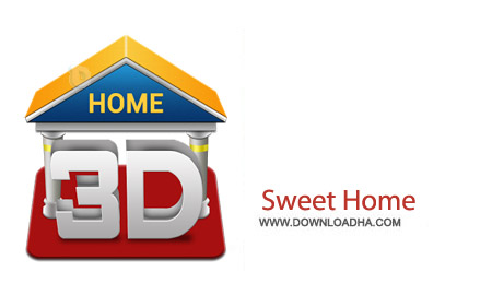 Sweet Home 3D v4.4 نرم افزار طراحی دکوراسیون سه بعدی Sweet Home 3D v4.4