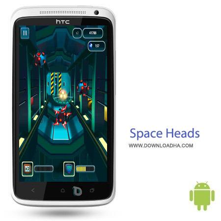 Space Heads v1.2.1.0 بازی فضایی Space Heads v1.2.1.0 – اندروید