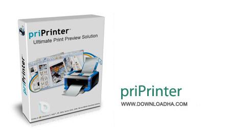 priPrinter Professional 6.1.2.2314 نرم افزار پرینتر مجازی سیستم priPrinter Professional 6.1.2.2314