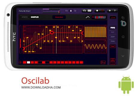 Oscilab 1.0 نرم افزار تدوین فایل های صوتی Oscilab 1.0 – اندروید