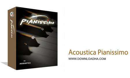 Acoustica Pianissimo 1.012 نرم افزار شبیه ساز پیانو اکوستیک Acoustica Pianissimo 1.012