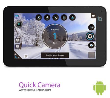 Quick Camera Pro 1.0 نرم افزار عکاسی Quick Camera Pro 1.0 – اندروید