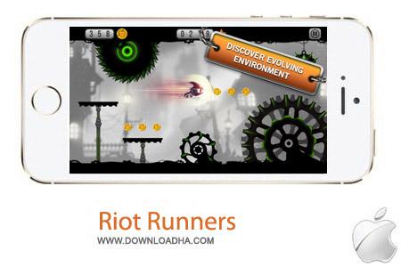 Riot Runners 1.2.4 بازی ربات جنگجو Riot Runners 1.2.4 – آیفون ، آیپد و آیپاد