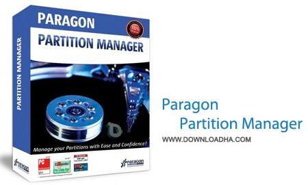 Paragon Partition Manager 2014 Free 10.1.21.236 نرم افزار پارتیشن بندی آسان Paragon Partition Manager 2014 Free 10.1.21.236