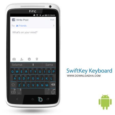 SwiftKey Keyboard v5.0.1.77 نرم افزار کیبورد SwiftKey Keyboard v5.0.1.77 – اندروید