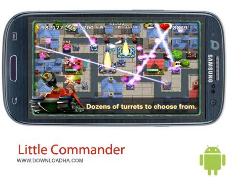 Little Commander 2 1.0.2 بازی فرماندهی Little Commander 2 1.0.2 – اندروید
