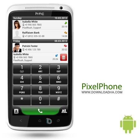 PixelPhone Pro 3.6 نرم افزار زیبا سازی ظاهر مخاطبین PixelPhone Pro 3.3.1 – اندروید
