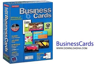 Mojosoft BusinessCards MX 4.93 نرم افزار طراحی کارت ویزیت های زیبا Mojosoft BusinessCards MX 4.93