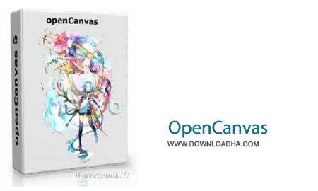 OpenCanvas 6.0.02 نرم افزار طراحی و نقاشی OpenCanvas 6.0.02