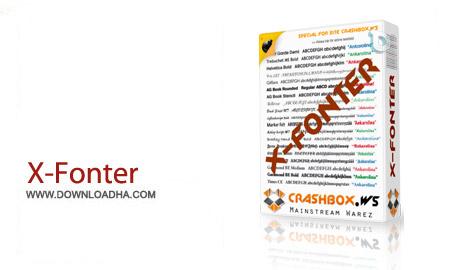 X Fonter v8.3.0 نرم افزار مدیریت فونت های سیستم X Fonter v8.3.0