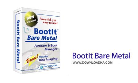 BootIt Bare Metal 1.28 نرم افزار چند منظوره مدیریت پارتیشن BootIt Bare Metal 1.28