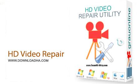 HD Video Repair Utility 1.9.0.1 نرم افزار تعمیر فیلم ها HD Video Repair Utility 1.9.0.1
