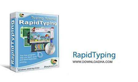 RapidTyping v5.0.120.70 نرم افزار آموزش افزایش سرعت تایپ کردن RapidTyping v5.0.120.70