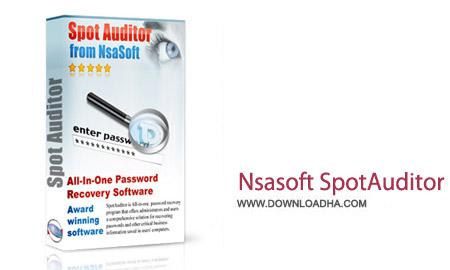 Nsasoft SpotAuditor 4.9.6 نرم افزار بازیابی پسورد ذخیره شده Nsasoft SpotAuditor 4.9.6