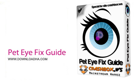 Pet Eye Fix Guide 2.2.2 نرم افزار رفع سفیدی چشم حیوانات در تصاوریر Pet Eye Fix Guide 2.2.2