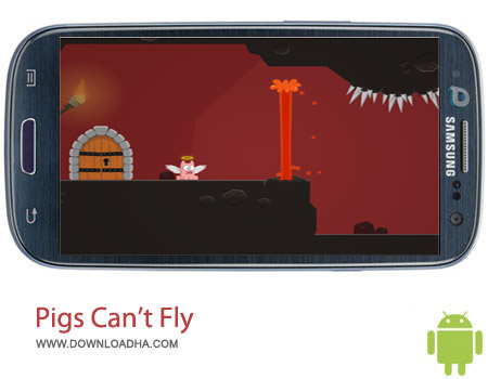 Pigs Can%92t Fly v1.0 بازی خوک ها پرواز نمیکنند Pigs Can't Fly v1.0 – اندروید