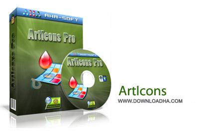 ArtIcons Pro 5.44 نرم افزار ساخت آیکون های زیبا ArtIcons Pro 5.44