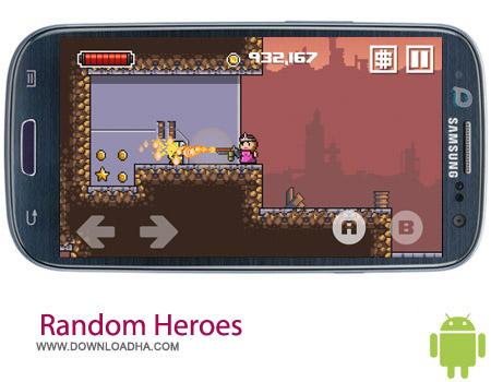 Random Heroes 2 1.1.1 بازی قهرمانان Random Heroes 2 1.1.1 – اندروید