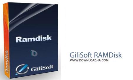 GiliSoft RAMDisk 6.4.0 نرم افزار استفاده هارد دیسک به عنوان حافظه رم GiliSoft RAMDisk 6.4.0