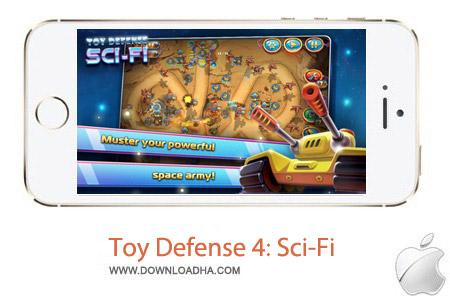 Toy Defense 4 Sci Fi بازی دفاع اسباب بازی ها Toy Defense 4: Sci Fi 1.2 – آیفون ، آیپد و آیپاد