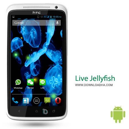 Live Jellyfish 1.0 لایو والپیپر عروس دریایی Live Jellyfish 1.0 – اندروید