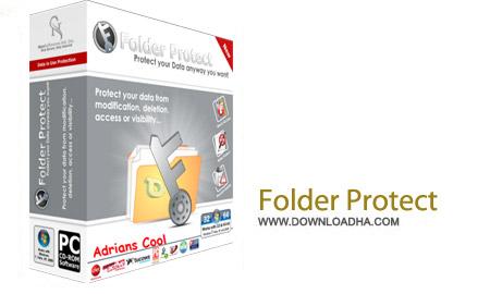 Folder Protect 2.0.0 نرم افزار مخفی کردن اطلاعات Folder Protect 2.0.0