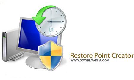 Restore Point Creator 2.4.23 Final نرم افزار مدیریت ریستور ویندوز Restore Point Creator 2.4.23 Final