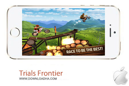 Trials Frontier 1.1.0 بازی موتور تریل Trials Frontier 1.1.0 – آیفون ، آیپد و آیپاد