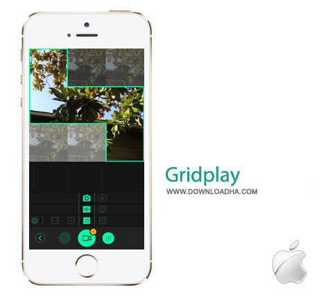 Gridplay 1.1.3 نرم افزار ساخت کلیپ Gridplay 1.1.3 – آیفون ، آیپد و آیپاد