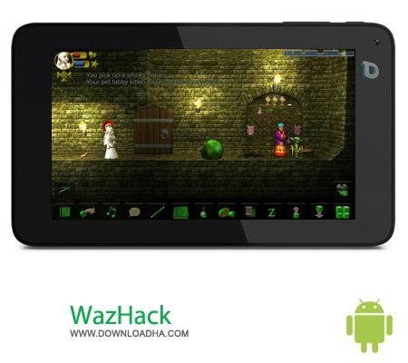 WazHack v1.2.1658 بازی اسکلت جنگجو WazHack v1.2.1658 – اندروید