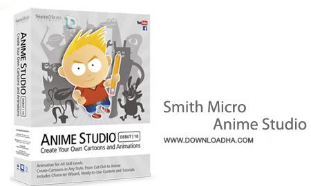 Smith Micro Anime Studio Pro 10.1 نرم افزار طراحی انیمیشن های حرفه ای Smith Micro Anime Studio Pro 10.1