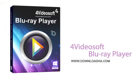 4Videosoft Blu ray Player 6.1.32 نرم افزار پلیر حرفه ای 4Videosoft Blu ray Player 6.1.32