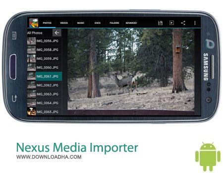 Nexus Media Importer 7.7.1 نرم افزار انتقال فایل از فلش به گوشی Nexus Media Importer 7.7.17.7.1 – اندروید