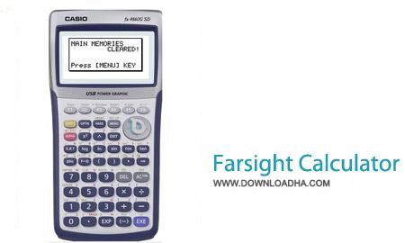 Farsight Calculator v3.6 نرم افزار ماشین حساب حرفه ای Farsight Calculator v3.6