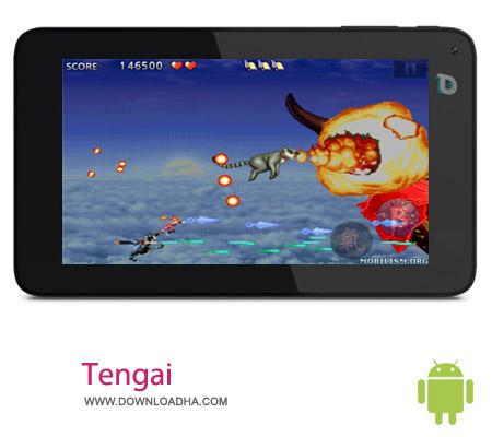Tengai v1.09 بازی هیجان انگیز Tengai v1.09 – اندروید