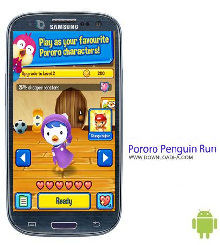بازی پنگوئن Pororo Penguin Run v1.0.3 – اندروید