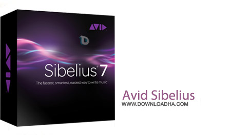 Avid Sibelius v7.5.1 نرم افزار نت نویسی موسیقی Avid Sibelius v7.5.1