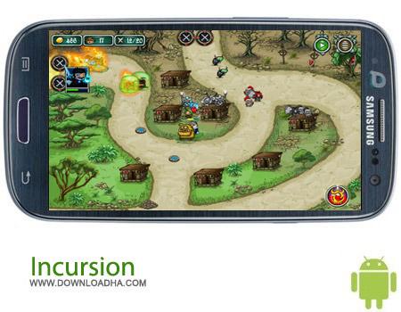 Incursion v1.1.6 بازی استراتژیک تاخت و تاز Incursion v1.1.6 – اندروید