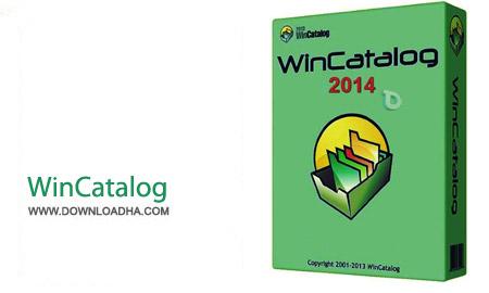 WinCatalog 2014 8.0.7.4 نرم افزار ساخت کاتالوگ از فایل ها WinCatalog 2014 8.0.7.4