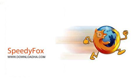 SpeedyFox 2.0.8 Build 73 نرم افزار افزایش سرعت مرورگر فایرفاکس SpeedyFox 2.0.8 Build 73
