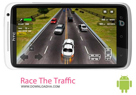Race The Traffic v1.0.5 بازی رانندگی در ترافیک Race The Traffic v1.0.5 – اندروید