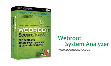 Webroot System Analyzer 8.0.4.115 نرم افزار بررسی مشکلات ویندوز Webroot System Analyzer 8.0.4.115