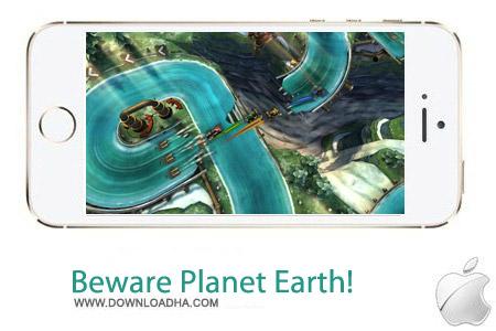Beware Planet Earth%21 1.0 بازی دفاع از زمین Beware Planet Earth 1.0 – آیفون ، آیپد و آیپاد